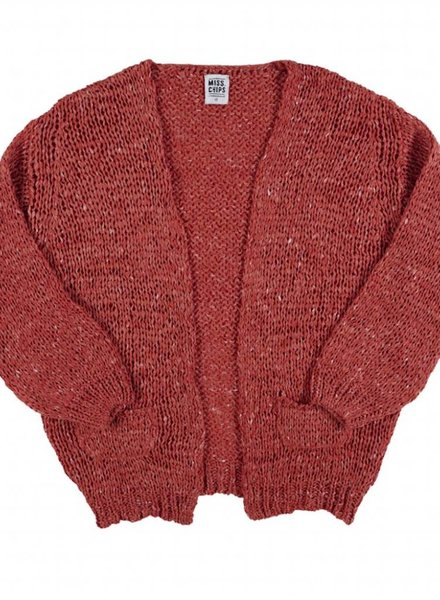 Miss Chips Cardigan spice