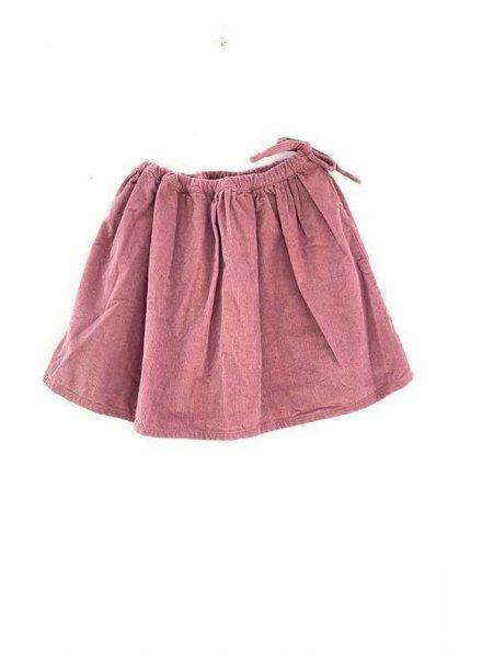Longlivethequeen skirt corduroy pink
