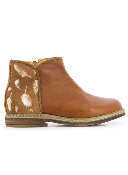 Pom D'Api Boots feather gold