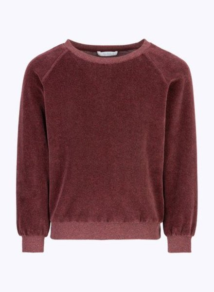 BY-BAR Sweater Teddy bordeaux