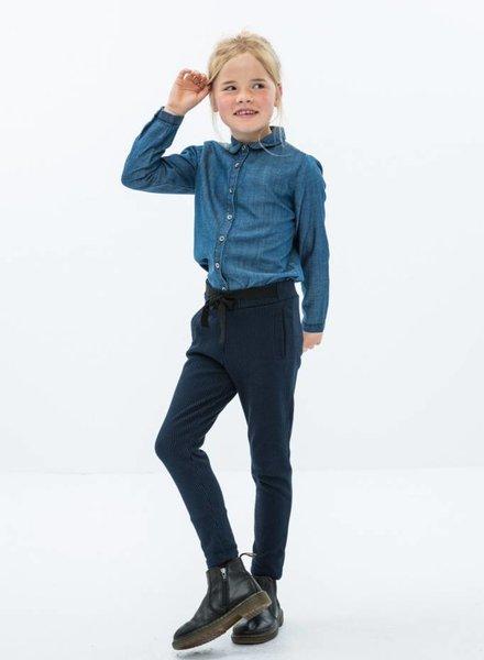 BY-BAR pantalon lignes marine