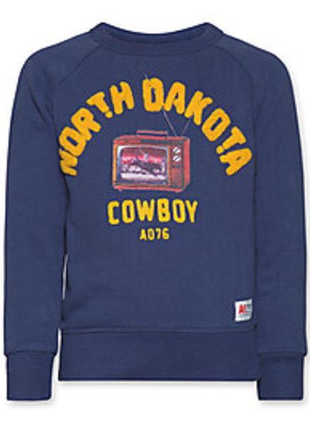 AO76 Sweater COWBOY blauw