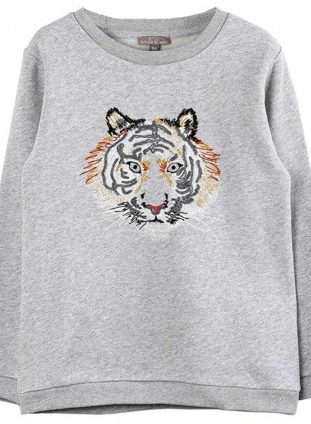 Emile et Ida Sweater tijger