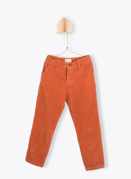 Arsène et les pipelettes Pantalon velours orange