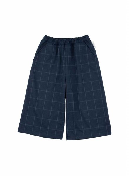 Tiny Cottons jupe de pantalon gris avec les carreaux