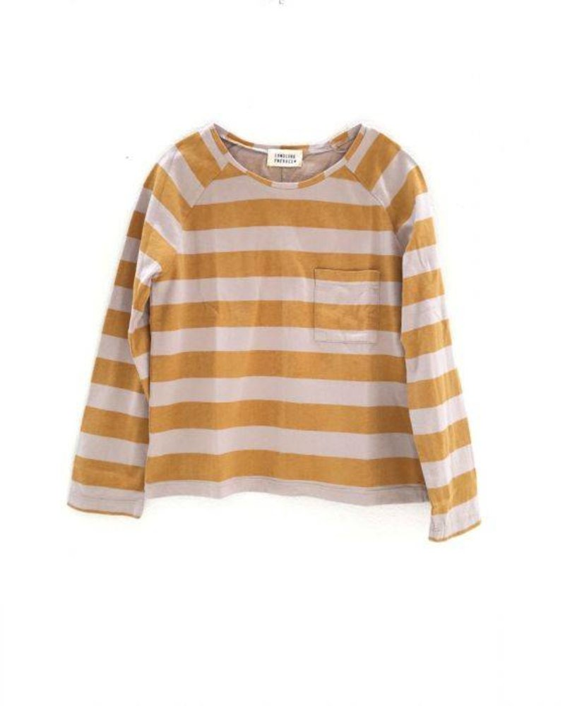 Longlivethequeen T shirt mosterdgeel