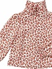 Maed for mini Red Leopard Blouse