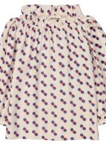 Hello Simone Romy shirt Circle Red AW18-RSCR