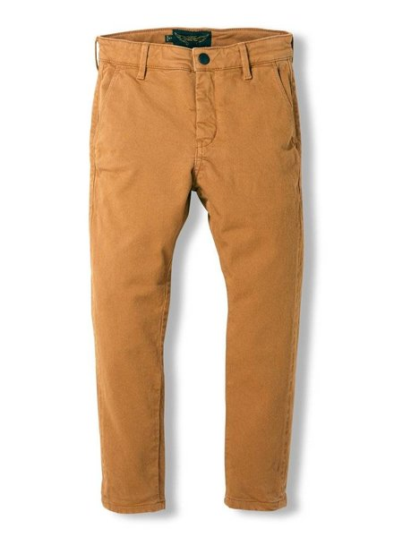 Finger in the nose Broek camel