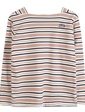 Emile et Ida Longsleeves stripes blue orange