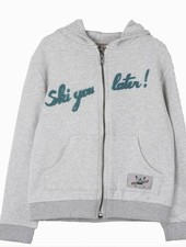 Emile et Ida Hoodie grey with a mask