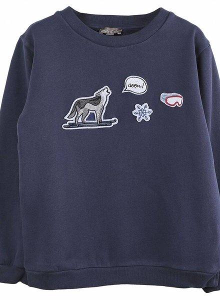 Emile et Ida sweater wolf