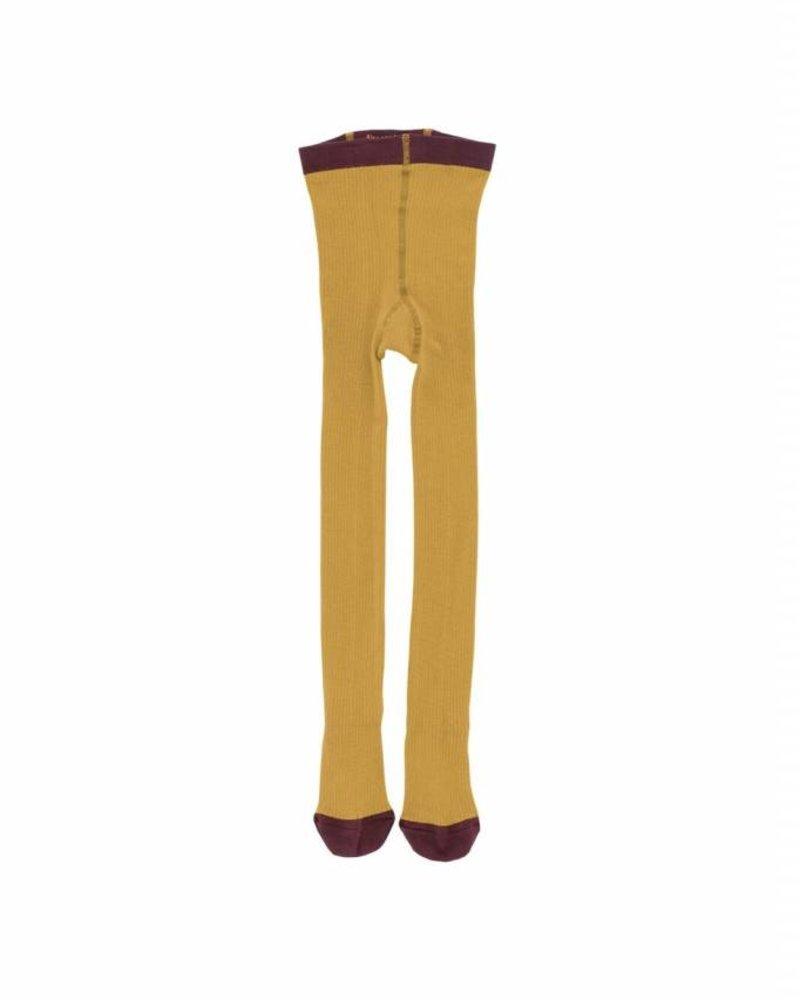 Tiny Cottons bas pantalon jaune moutarde