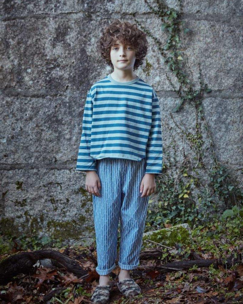 Fish & Kids Pull rayures bleu