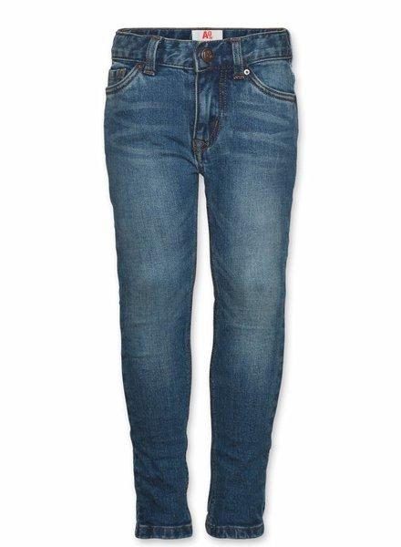 AO76 Broek jeans blauw