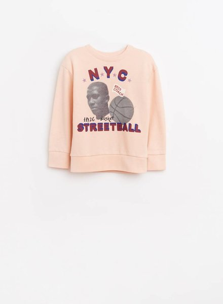 Bellerose Sweater  NYC STREETBALL light rose