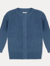 Repose AMS cardigan aged blue red