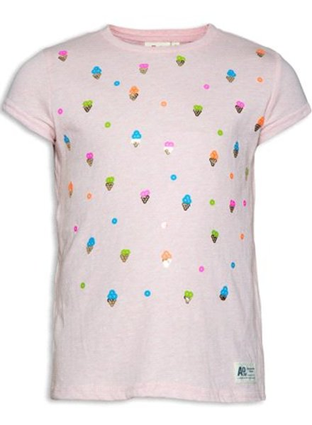 AO76 T-shirt icecreams pink