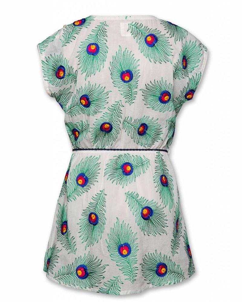 AO76 jurk makya multicolour