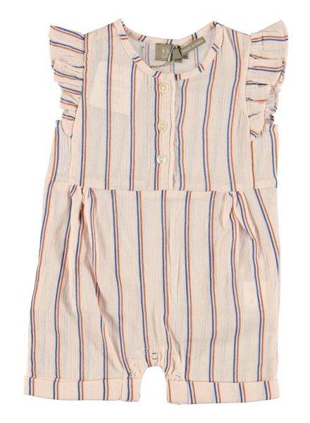 Kidscase Jumpsuit Pippa baby short suit pink
