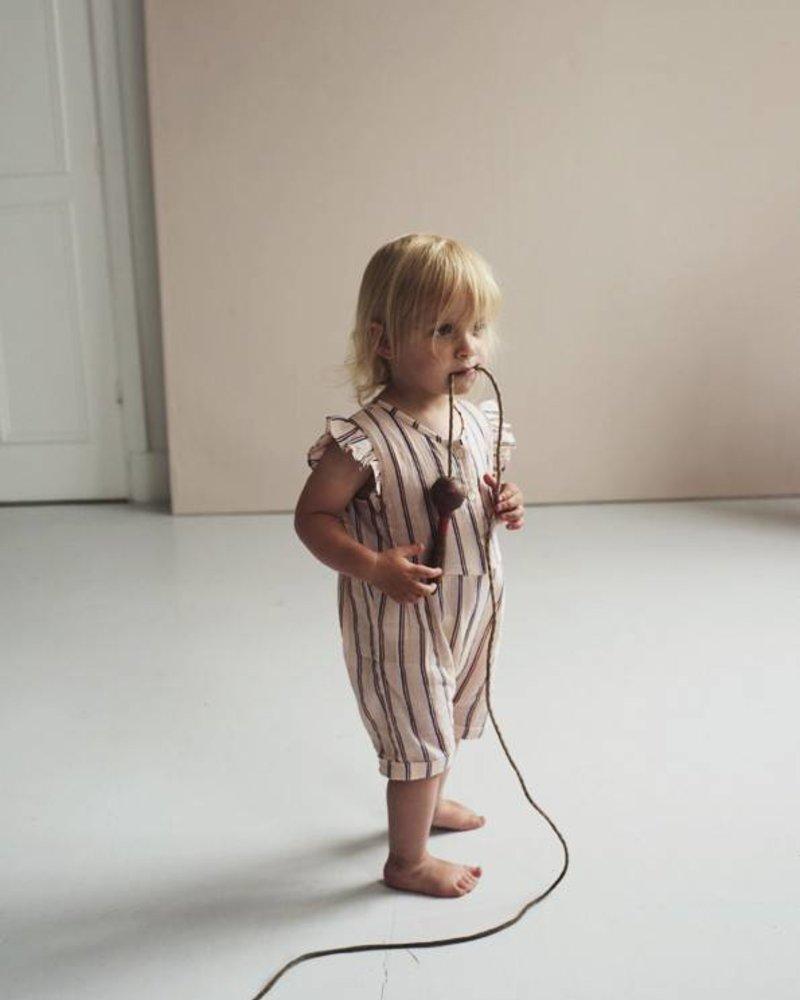 Kidscase Kidscase jumpsuit Pippa baby short suit pink W902-7080