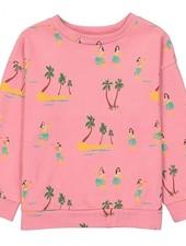 Hello Simone Sweater aloha rose