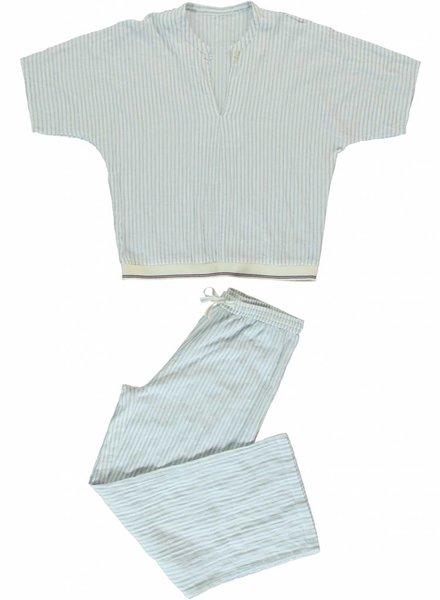 Pyjama set ADHIL - ALKES Wrinkle Stripe