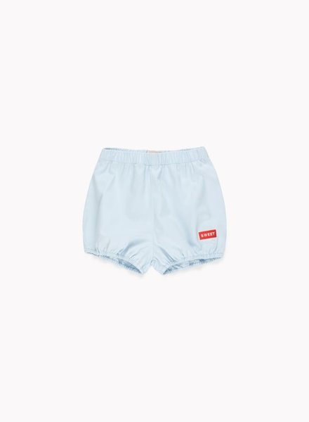 Tiny Cottons short  light denim / red
