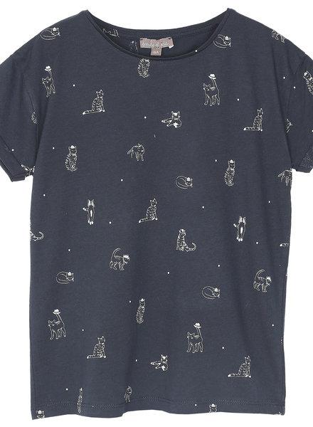 Emile et Ida T shirt met kat