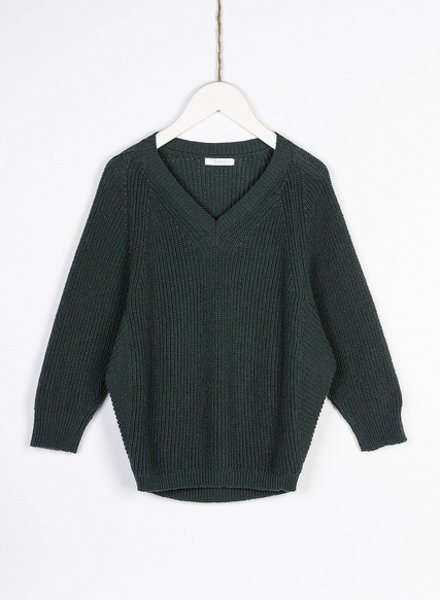 BY-BAR sweater dark green