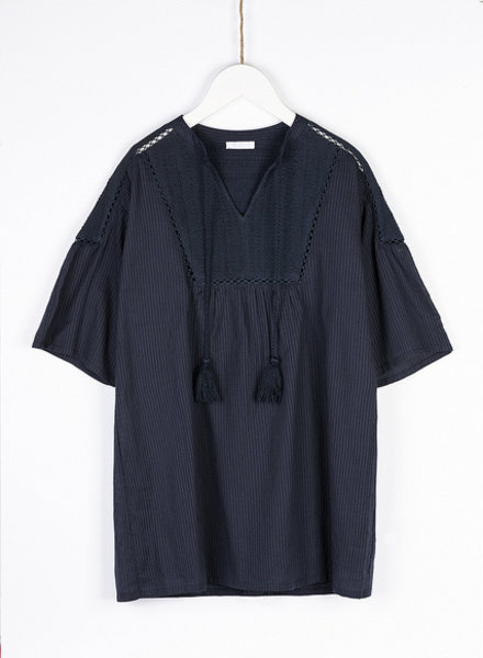 BY-BAR dani dress dark navy