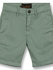 Finger in the nose Short green chino