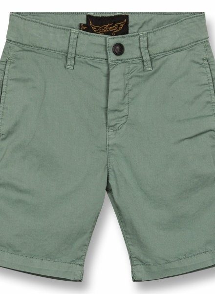 Finger in the nose Short chino green