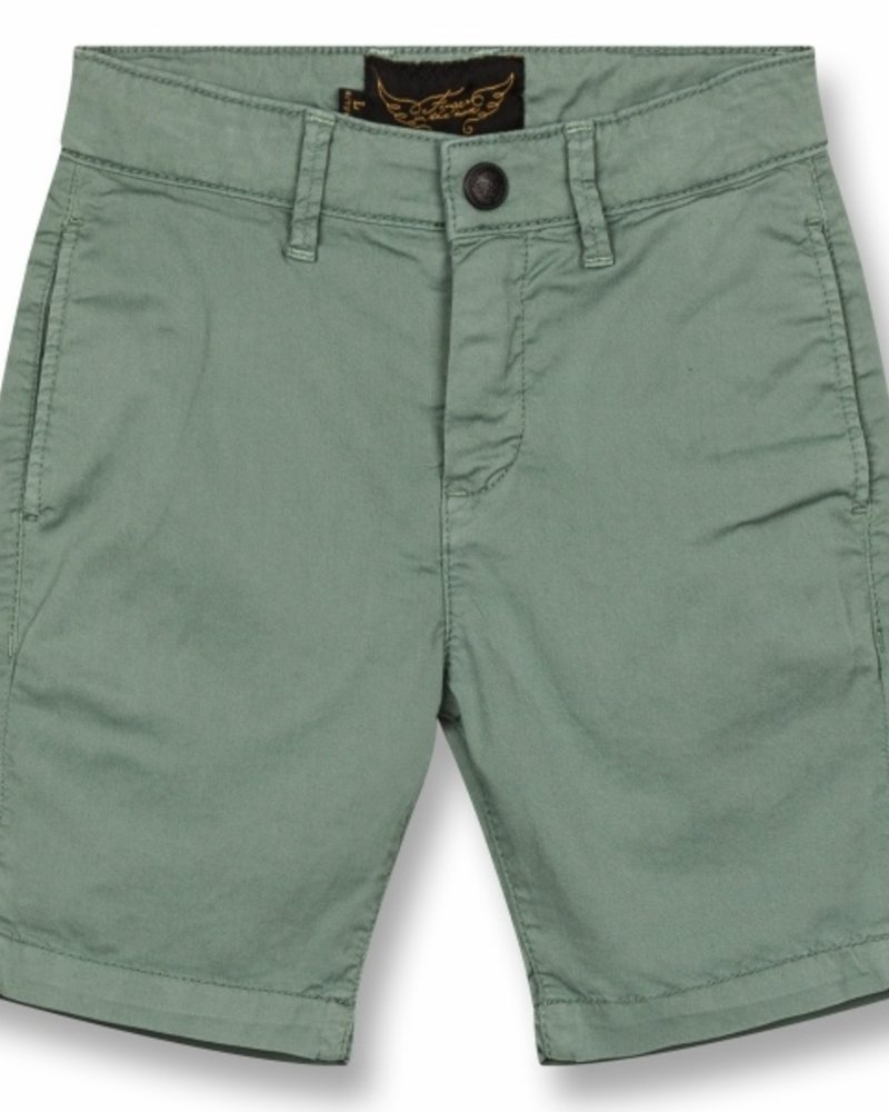Finger in the nose Finger in the Nose short ALLEN Lichen Green Woven Chino Fit Bermuda 192-493-520