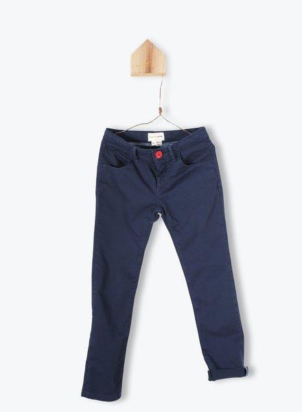 Arsène et les Pipelettes blauwe chino