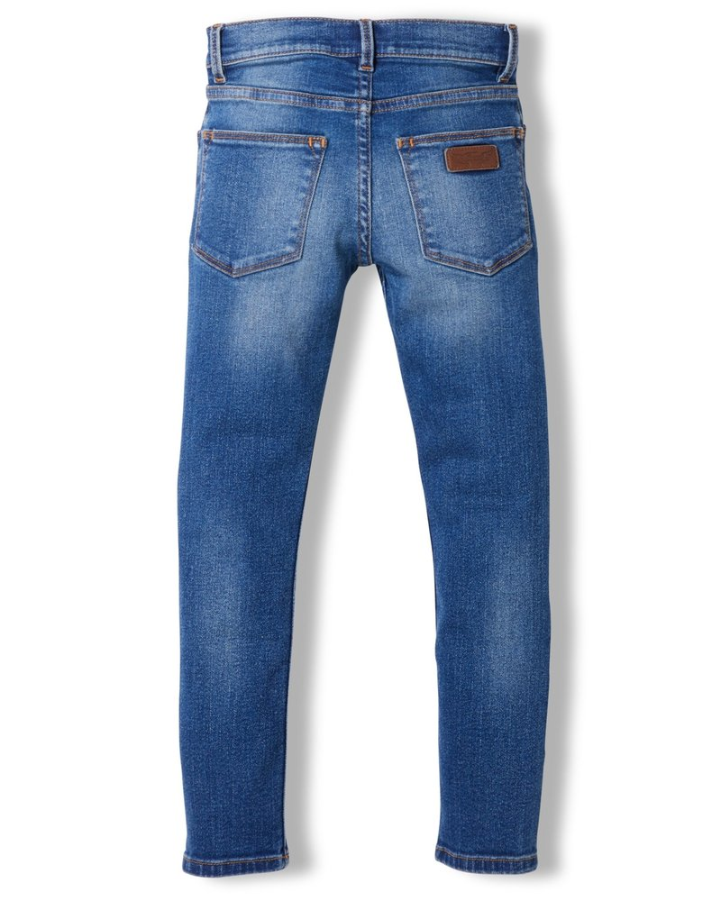 Finger in the nose Finger in the Nose TAMA Dirty Blue Woven Skinny Fit Jeans 192-729-216