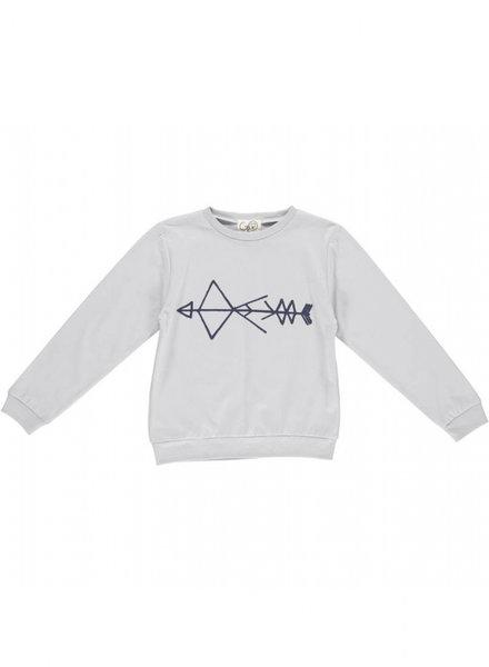 Gro Company Lichtgrijze sweater