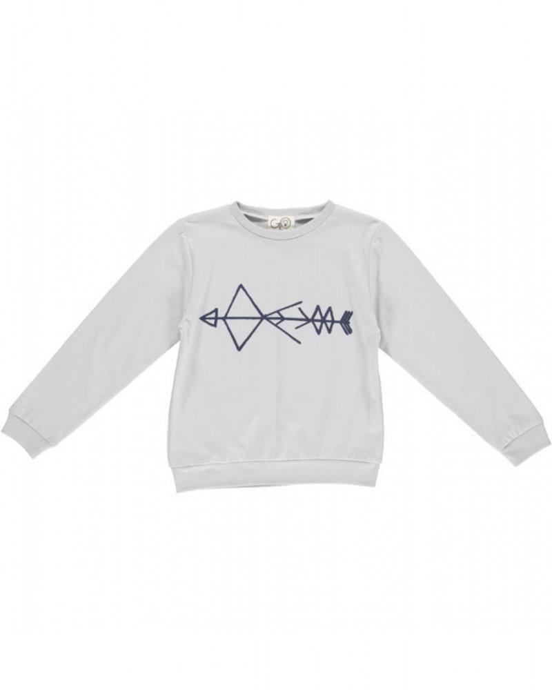 Gro Company GRO sweater 0150 MADS SWEAT LIGHT GREY