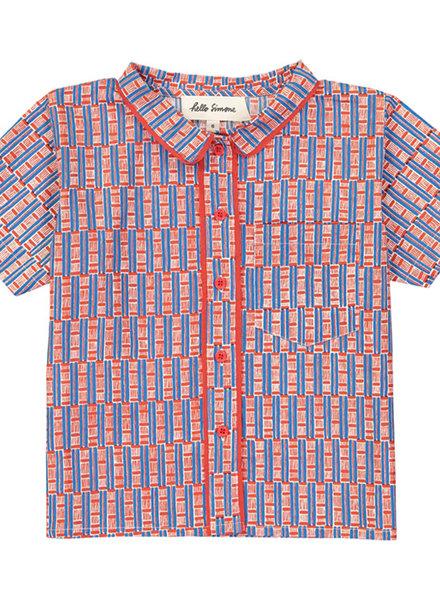 Hello Simone Shirt Carlo Wax