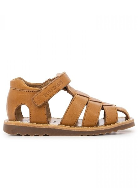 Pom D'Api Sandals  Waff Papy Tomaia Camel
