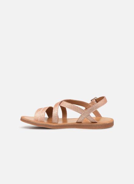 Sandals  Pom D'Api Plagette Lagon Glitter Nude