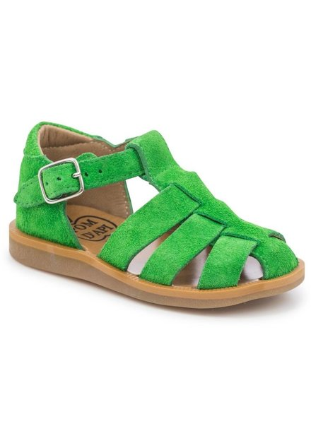 Sandals Poppy Daddy Velours Chlorofille
