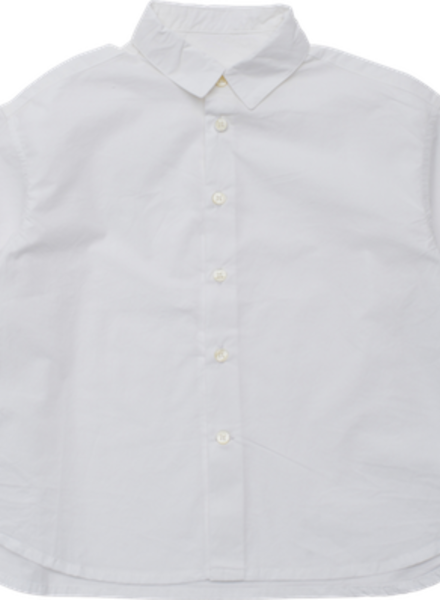 East End Highlanders Shirt Loosely SH off white