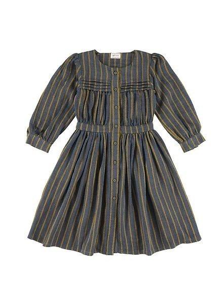 Morley Halflange jurk karol walter bleu