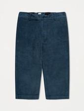 Repose AMS broek Cord pants mid stone blue