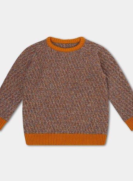 Repose AMS Raglan sweater contrast twill