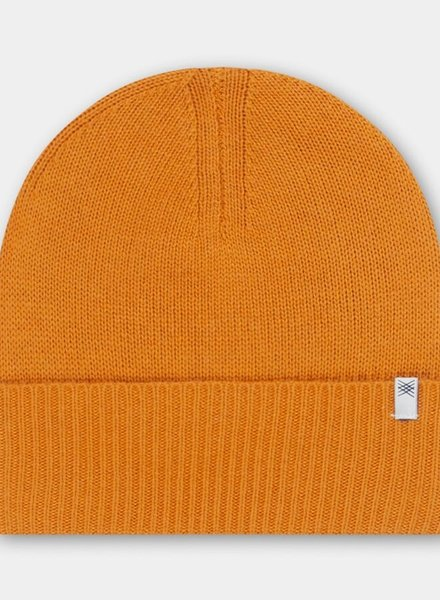 Repose AMS beanie knitted hat warm yellow
