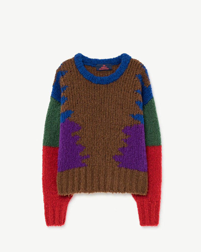 The animals observatory The Animals Observatory sweater BLOWFISH Kids Sweater MULTICOLOR
