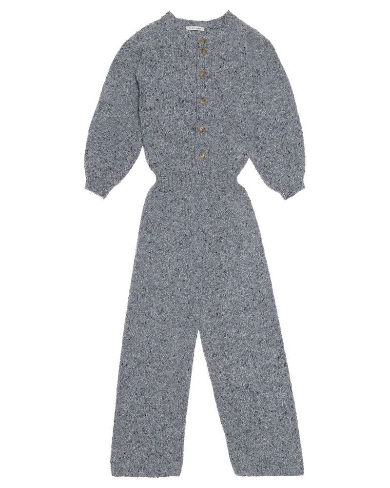 The New Society The New Society jumpsuit MAIA Knit Jumpsuit Grey Melange