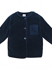 The New Society Teddy Jacket Harper Navy
